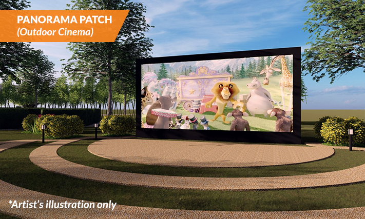 PANORAMA PATCH - Outdoor Cinema