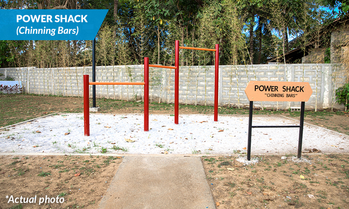 POWER SHACK - Chinning Bars