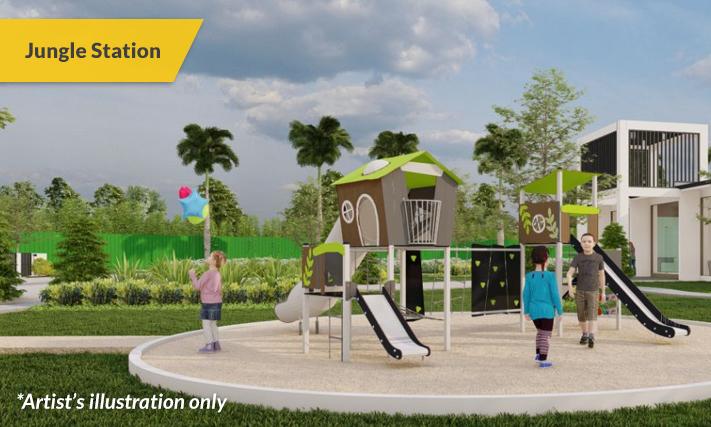 Amenities Jungle Station